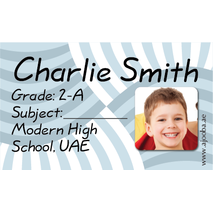 40 Personalised School Label 0288