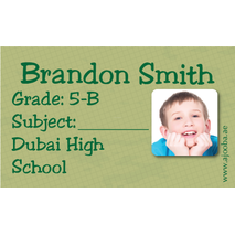 40 Personalised School Label 0294