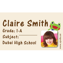 40 Personalised School Label 0295