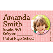 40 Personalised School Label 0298