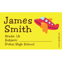 40 Personalised School Label 0303