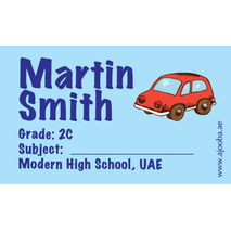 40 Personalised School Label 0304