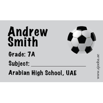 40 Personalised School Label 0310
