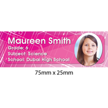 Personalised School Book Label Small PS BLS 0067