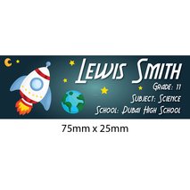 Personalised School Book Label Small PS BLS 0078