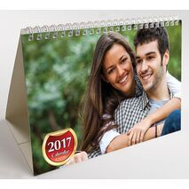 Pictorial Desk Calendar With 4 Pictures