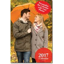 Portrait Wall Calendar with 14 Pictures