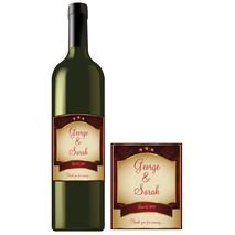 Rectangle Bottle Label RBL 0001