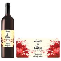 Rectangle Bottle Label RBL 0004