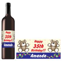 Rectangle Bottle Label RBL 0007