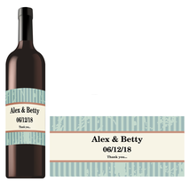 Rectangle Bottle Label RBL 0012