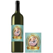 Rectangle Bottle Label RBL 0015