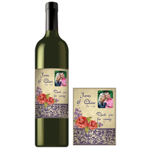 Rectangle Bottle Label RBL 0052