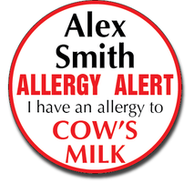 Allergy Label ST AL G 015