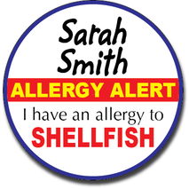 Allergy Label ST AL G 016