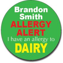 Allergy Label ST AL G 018