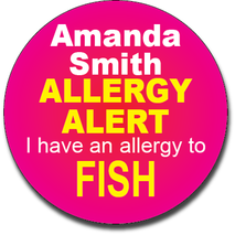 Allergy Label ST AL G 019