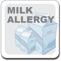 Allergy Label ST AL G 020