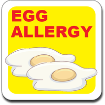 Allergy Label ST AL G 022