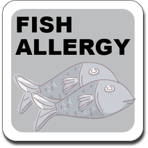 Allergy Label ST AL G 023