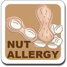 Allergy Label ST AL G 024