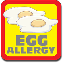 Allergy Label ST AL G 027