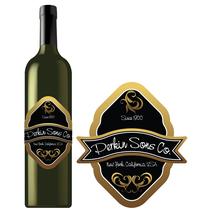 Special Cut Bottle Labels SC BL 0002