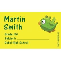 40 Personalised School Label 0312