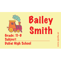 40 Personalised School Label 0317