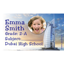 40 Personalised School Label 0323