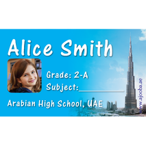 40 Personalised School Label 0324