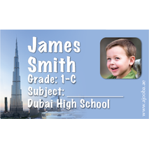 40 Personalised School Label 0326