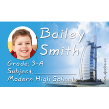 40 Personalised School Label 0327