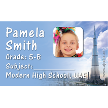 40 Personalised School Label 0332