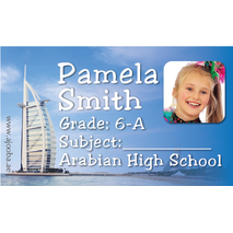 40 Personalised School Label 0333