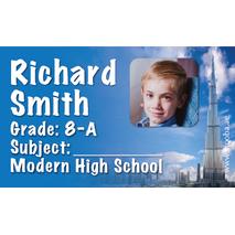 40 Personalised School Label 0334