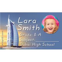 40 Personalised School Label 0335