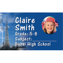 40 Personalised School Label 0336