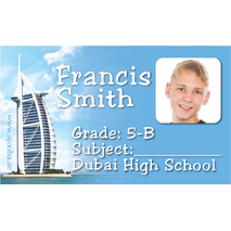 40 Personalised School Label 0337