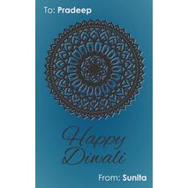 Diwali Design Gift Tag 077