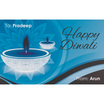 Diwali Design Gift Tag 080