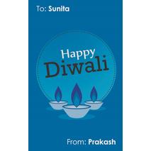 Diwali Design Gift Tag 081