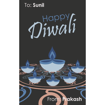 Diwali Design Gift Tag 085