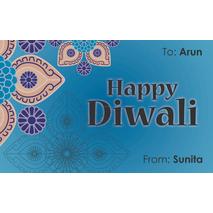 Diwali Design Gift Tag 086