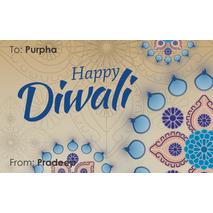 Diwali Design Gift Tag 088