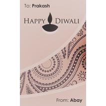 Diwali Design Gift Tag 089