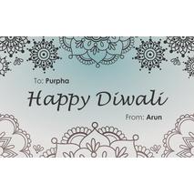 Diwali Design Gift Tag 092