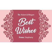 Laser Engraved Gift Tags D  24