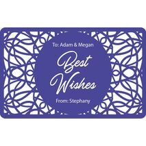 Laser Engraved Gift Tags D  09