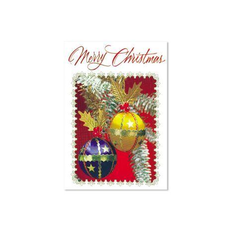 Christmas Card (Xmas Balls)